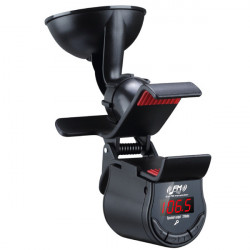 A7 360 Degree Rotation Phone Holder + FM Transmitter Car Hands-Free