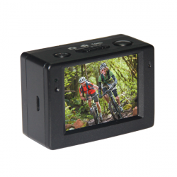 "AT83 1080p Full HD 2"" 800mAh Sport 30M Vattentät Bil DVR Videokamera"