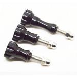 Aluminum Thumb Knob Stainless Bolt Nut Screw for SJ4000 Gopro Car DVRs