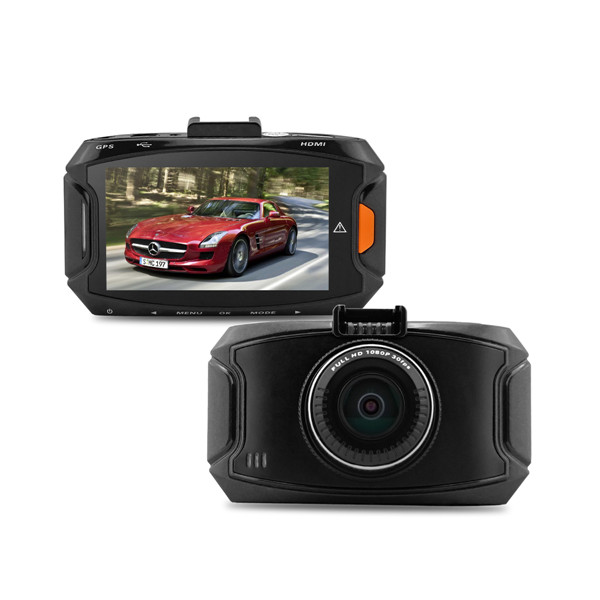 "Ambarella A7LA50 Full HD 1296P GS90A 2,7"" Bil DVR-inspelare med GPS Bilkameror DVR"