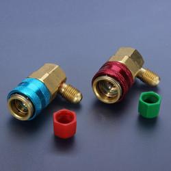 Auto Auto High  und Low Schnellkupplungen Stecker Adapter R134A QC 15
