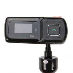 Auto MP3 Player Handsfree Car Kit FM Transmitter Supports TF/USB