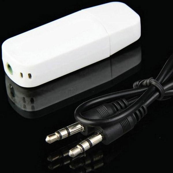 Automobile V2.0 EDR USB Drive Audio Mottagare 3.5mm Audio Ljud & Bild
