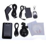 CM-9 Bil DVR Recorder Övervaka Mörkerseende Kamera Remote Control Bilkameror DVR