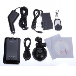 CM-9 Car DVR Recorder Monitor Night Vision Camera Remote Control