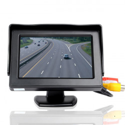"CSX43D-A1 4.3"" Bil Monitor Desktop LCD Digital Display Sort"