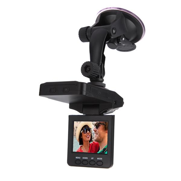 Bil 6 IR LED HD Portabel DVR Videoinspelning Kamera 2,5 Tum Bilkameror DVR