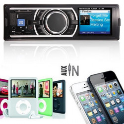 Car Audio Stereo In Dash MP3 Player FM USB AUX Eingang Receiver