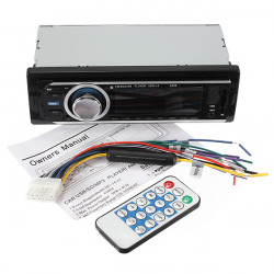 Car Audio Stereo MP3 Player AUX-IN Radio FM With Remote Control