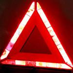 Car Auto Emergency Tripod Red Reflector Warning Triangle Mirror Car Alarm & Security
