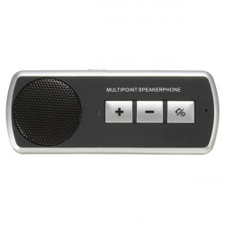 Car BT Multipoint Speakerphone Handsfree with Sun Visor Clip