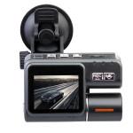 Bil Svart Box DVR HD 720P Dual Lens Instrumentpanel Fordons Kamera Bilkameror DVR