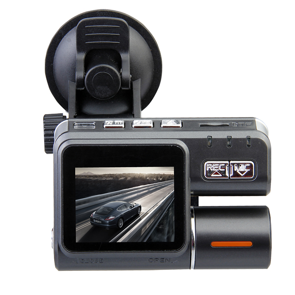 Car Black Box DVR HD 720P Dual Lens Dashboard Vehicle Camera Car DVRs