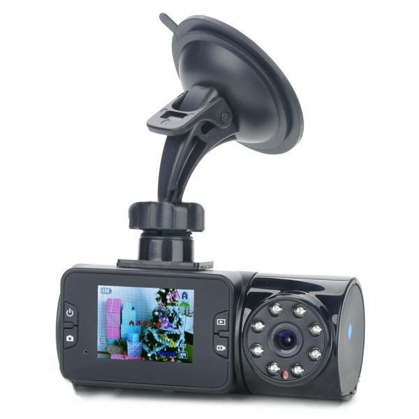 "Auto DVR 8 IR LED Nachtsicht Weitwinkel Camcorder 2"" TFT LCD Autokamera DVR"