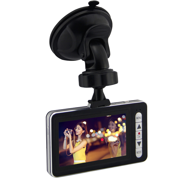 Car DVR GS20 Black Box 170 Degree 1080P HD Screen Car DVRs
