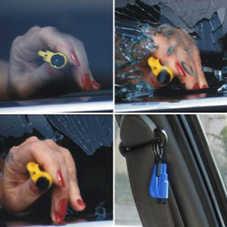 Car Escape Device Emergency Broken Window Hammer for RD-7110