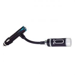 Bil FM Transmitter Radio Trådløs Håndfri Højttaler til iPhone iPad