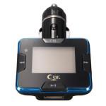 Bil Kit MP3-afspiller Trådløs FM Transmitter Modulator USB SD LCD Fjernbetjening Lyd & Billede