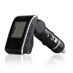 Car Kit MP3 Player Wireless FM Transmitter Modulator USB SD LCD w/MIC