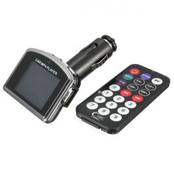 Car LCD Kit MP3 MP4 Player Wireless FM Transmitter Modulator USB SD