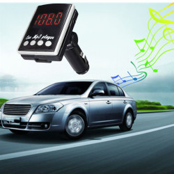 Auto MP3 Player FM Transmitter Stereo TF LCD Fern