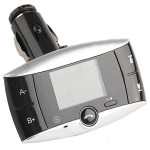 Bil Mp3-Afspiller Trådløs Adapter FM Transmitter + Fjernbetjening Lyd & Billede