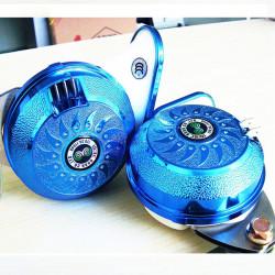 Car Multi-tone Beep Snail Horn Waterproof Eight Sound Whistle Speaker