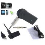 Bil Bærbar A2DP Trådløs Audio Musik Receiver Adapter med Mikrofon Lyd & Billede