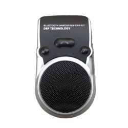 Car Solar Wireless BT Handsfree Speakerphone with Car Charger