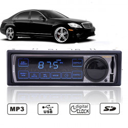 Car Touch Bluetooth 1-Din Stereo Radio MP3 USB/SD AUX Player