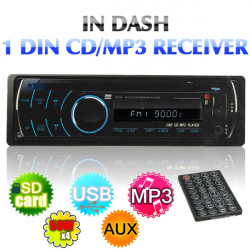 Bil Video Audio WMA DVD VCD CD MP4 MP3 USB-afspiller AM FM