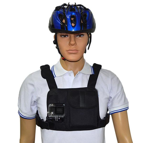Pulsband Harness Justerbar Shirt för Xiaomi Yi SJ4000 Series Kamera Bilkameror DVR