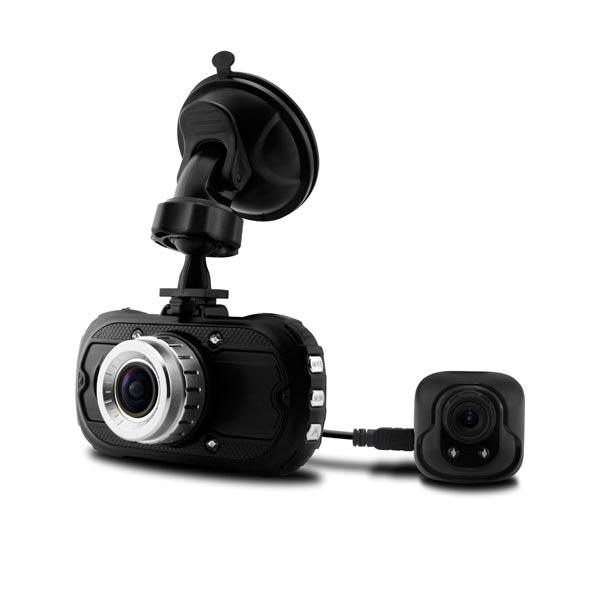 Dual Lens DVR Bakre Kamera HD 170° Lens IR Ljus Night C6000B Bilkameror DVR