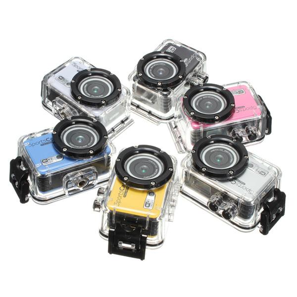 F39 HD 1080P Waterproof Sport Action Helmet Camera DV Wifi Camcorder Car DVRs