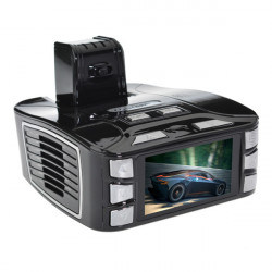 "Full HD 1080p K5 Bil DVR Kamera 2,7"" LCD 162 Graders Vinkel Lens"