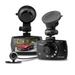 G30B Car DVR 2.7 Inch LCD HD 1080P 140 Degree Wide Angle Dual Lens Car DVRs
