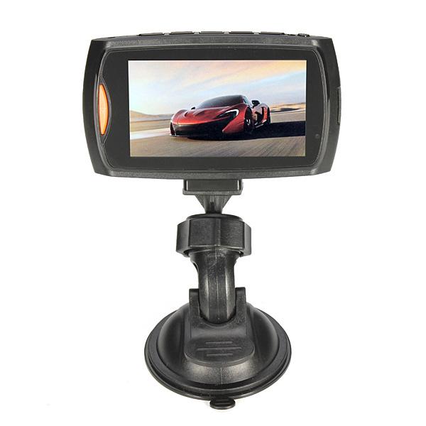 G90 Bil Kamera 1080p Full HD Dual Lens DVR Videoinspelning Detector Bilkameror DVR