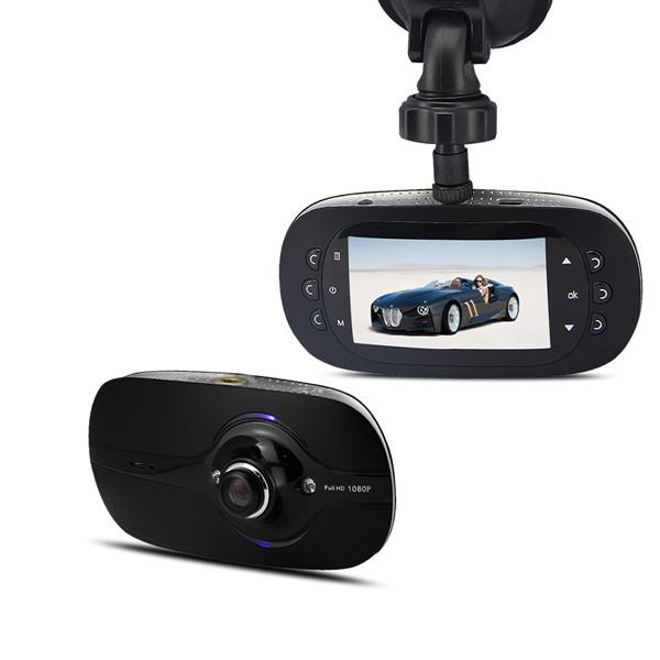 """GF6000L Bil DVR Full HD 1080p 2.7"""" LCD 140° Vidvinkelobjektiv Bilkameror DVR"""