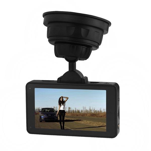 """GS6300 HD DVR 3.0"""" TFT LCD-5M CMOS-sensor IR Mörkerseende Bilkameror DVR"""