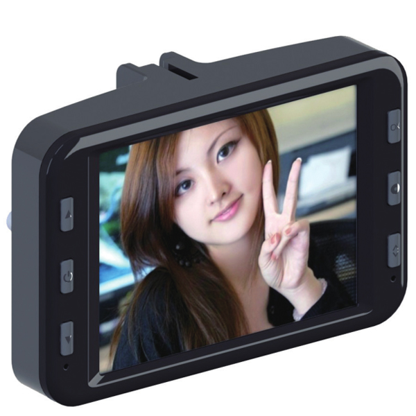 GT-10 3 Inch Full HD 1080P Car Driving Recorder Built-in Battery Car DVRs