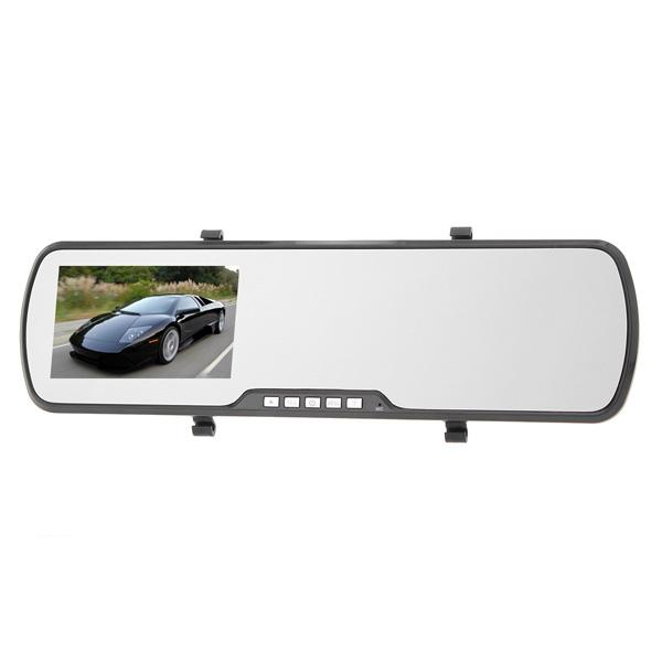 "H702 4.3"" TFT LCD volle HD1080P Auto DVR Ansicht Cam Kamera Autokamera DVR"