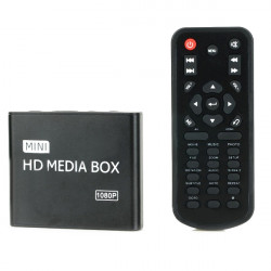HD 1080p HDD Bil Multi-Media AV Reklam Spelare HDMI-kabel