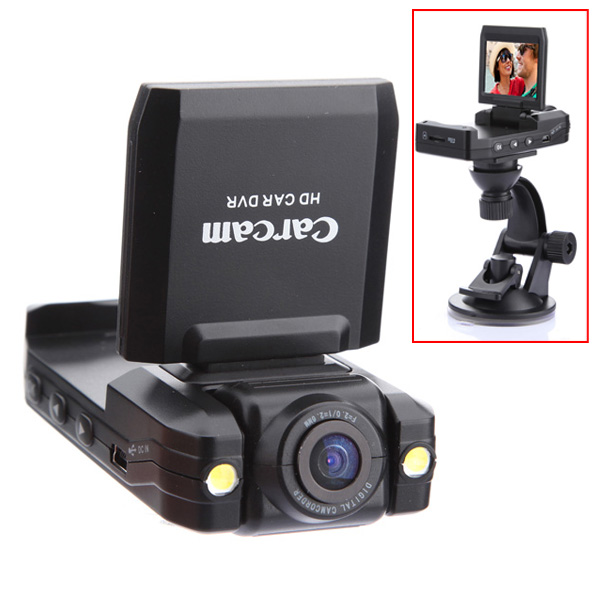 HD 1280 Driving Recorder Night Vision Portable Car Camera DVR Car DVRs