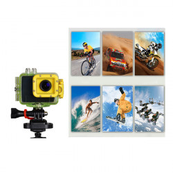 HD Waterproof Camera 1080P Sports Helmet Camera F28 Car DVR