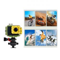 HD Vattentät Kamera 1080P Sporthjälm Kamera F28 Bil DVR