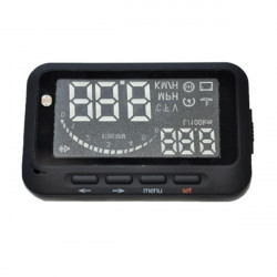 Ifound HUD Head-up Display Car Safe Driving Speed Warning System