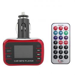 LCD-skärm Bil Kit Mp3-Spelare Trådlös FM-sändare Fjärrkontroll