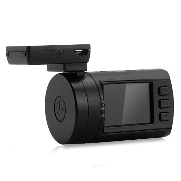 "MINI 0806 X44 1,5"" 1296P Ambarella A7LA50 GPS Videokamera Bilkameror DVR"