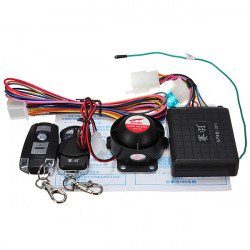 Motorcykel Tyverisikring Security Alarm Horn Voice Alert for Scoyco