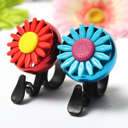 Motorcycle Bike Handlebar Horn Sunflower Bell Alarm Sound